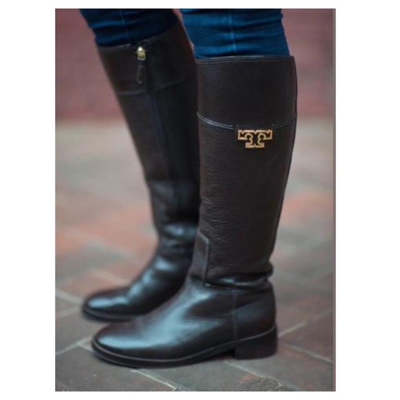 80982e6b8aa7 TORY BURCH  Joanna  Riding Boot. M 5a3da4eb1dffda98f7034071